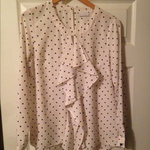 Polka dot blouse in good condition.